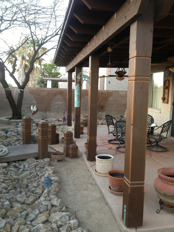 Patio Woodwork