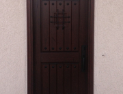 Decorative Wood Door