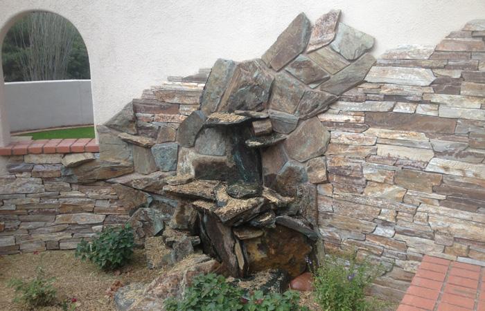 Veneer Stone Waterfall
